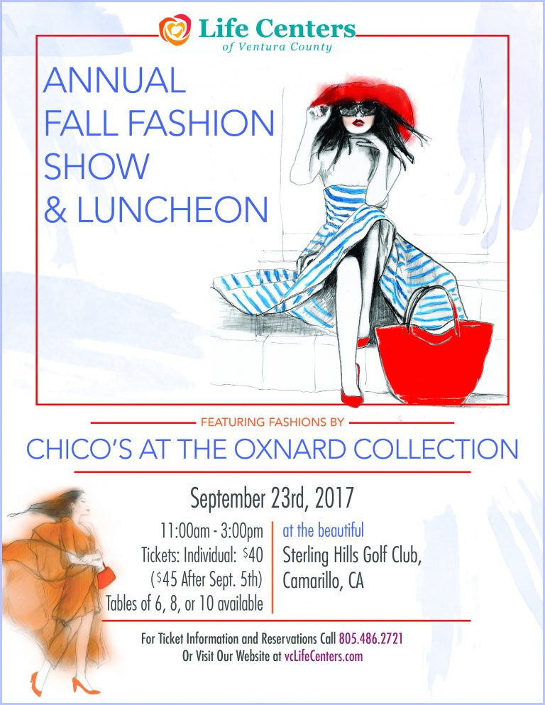 Camarillo - Annual Fall Fashion Show and Luncheon @ Sterling Hills Country Club | Camarillo | California | United States